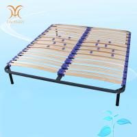 China Luxurious Metal Bed Frame With Slats Manufacturer wholesale
