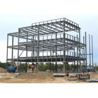 Stainless Light Steel Structure Building Working Places With Sandwich Panel Wall