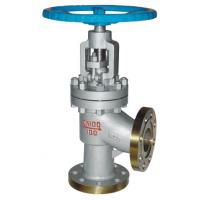 China High Pressure Angle Globe Valve For Acid , Water , Sewage Control wholesale