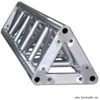 China 300*300 Triangle Shape Silver Aluminum Spigot Triangle Truss With Different Length For Ourdoor Performance wholesale