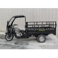 Three Wheel Cargo 200cc Motorcycle Trike 5 Speed With Front Cabin