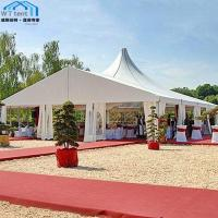 China Commercial Mixed Custom Made Tents Strong Metal Structure UV Protected wholesale