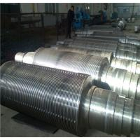 China Industrial Corrugated Roller Core for Rolling Aluminum  Diameter 450 - 800mm  High Hardness wholesale