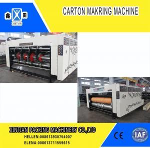 China High Precision Carton Making Machine / Paper Die Cutting Machines , 2800mm Inboard Width wholesale