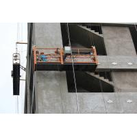 China Philippines external cleaning hoist temporary suspended platform gondola wholesale