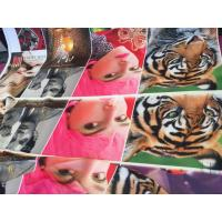 China 100% Polyester Digital Printing Fabric Plain Style 75D * 75D Yarn Count For Curtain wholesale
