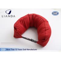 Buy cheap Custom U Shaped Memory Foam Pillows For Travel / Airplane , TUV BS5852 Certification from wholesalers