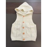 Buy cheap Le cardigan sans manche badine le chandail à capuchon, gilet blanc de chandail d from wholesalers