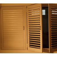 Buy cheap High quality China Aluminum Reinforced Polycore Shutters/pvc/Aluminum shutters from wholesalers