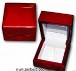 High Gloss Wooden Ring Box