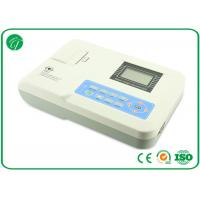 High Resolution Portable ECG Machine One Channel With Rechargeable Battery , CE ISO