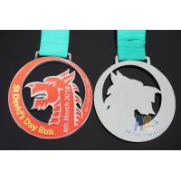 Buy cheap Dragon Boat Race, Running And Sailboat Custom Sports Medals Die Casting Material With Ribbon from wholesalers