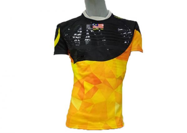 Quality Full Sublimation Rugby Union Jerseys Quick Dry Fabric Strong Moisture Absorption for sale