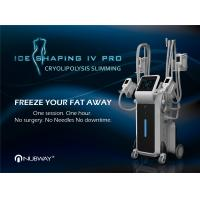 China Cryolipolysis Cool Shaping Machine 4 Handles Body Shaper / 4 Handles Can Work At The Same Time wholesale