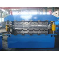 China tile making machine/double layer roll forming machine /floor tile making machine price wholesale
