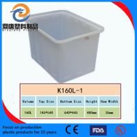 China stackable plastic turnover box wholesale