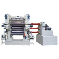 Buy cheap Soft PVC Calender Machine use 4 Roll For Film Banner 1800mm - 4000mm Width from wholesalers