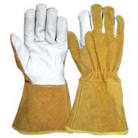 China Cow Grain Leather Welding Glove on sale