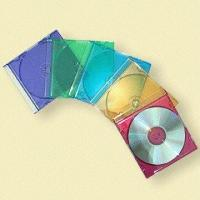 China 5.2mm Colored CD Jewel Boxes with Transparent Front Cover on sale