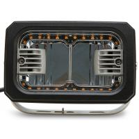 China 7inch Rectangle led Driving lamp with Yellow Angle Eye 40W HCW-L40292A 7D wholesale