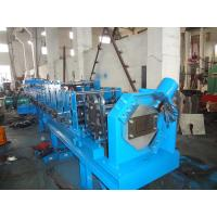 China Blue Cable Tray Roll Forming Machine , 7.5Kw Hydraulic Station Roll Former Machine wholesale