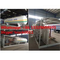 15tons skid lpg gas station with double weighting scales for sale, factory sale best price 15tons mobile skid lpg plant