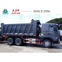 China Heavy Duty HOWO Dump Truck 30 Tons Efficient For Transporting Loose Material on sale