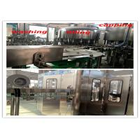 China Plastic Water Bottle Filling Machine With Food Grade SUS 304 Stainless Steel wholesale