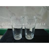 China Sublimation Glass Beer Mug With Logo Painting And Competitive Price on sale