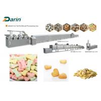 China DR -280 Stainless Steel Colored Dog Biscuit Making Machine With Stable Performance wholesale
