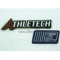 China Custom PVC badges rubber 3d patch logo embossed rubber patch for apparel on sale