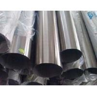 China 316 / 316L / 316Ti Round Stainless Steel Welded Pipe , Thick Wall SS Tubes on sale