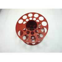 Quality One PP coil bobbin plastic circular tray Wear - resisting Custom Size for sale