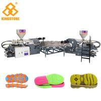 China Automatic Rotary PVC/TPR Shoe Sole Making Machine , Outsole Direct Injection Moulding Machine wholesale