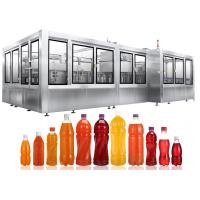Buy cheap Top Brand of Automatic PET Bottle Hot Filling Machine For Pulp Juice, Functional Beverages from wholesalers