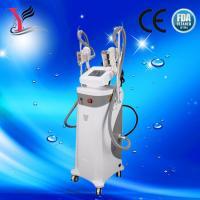 Double cryo handles cryolipolysis weight loss / cavitation rf slimming machine