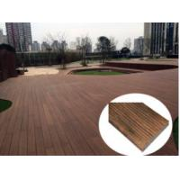 China Natural Bamboo Outdoor Interlocking Tiles , Waterproof Patio Deck Tiles on sale