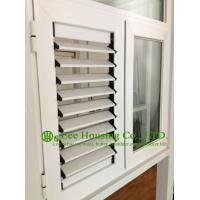 China Aluminum Casement Windows / louver blade shutter window / aluminum louver shutter design on sale