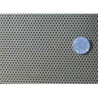 Truck Grill Round Hole Aluminum Perforated Sheet Anodized Easy To Process / Shape