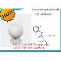 Pharmaceutical Intermediates Local Anesthetic Drugs 73-78-9 Lidocaine Hydrochloride