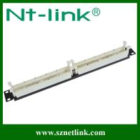 China 100 pairs rj11 telephone patch panel NT-P048A on sale