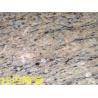 China Interior Tiles Golden Kitchen Granite Slabs +/-1mm Thickness Tolerance wholesale
