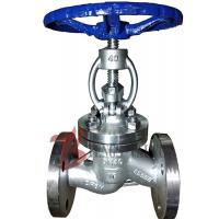 Straight Body Din Globe Valve Metal Seal With Bolted Bonnet Rising Stem