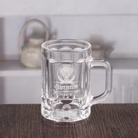 China Wholesale 4 oz mini beer glasses customize beer mug with logo on sale