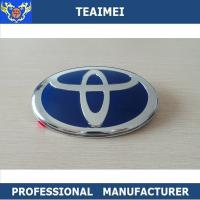 China Alloy Chrome Silver ABS Plastic Car Badge Logos For Car Body Decoration wholesale