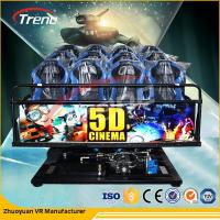 China 5D Cinema Equipment 70 PCS 5D Movies + 7 PCS 7D Shooting Games wholesale
