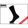 China Black Dot Cotton Crew Men Dress Socks Plain Customized  Male Leisure Socks wholesale