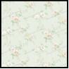 China elegant decorative wall paper flower design non-woven textile wallpaper wholesale