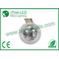 Buy cheap IP67 E14 full color 26mm RGB LED Pixel kiddie rides led light 2 years warranty from wholesalers