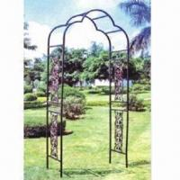 China Garden Gate, Made of Iron Metal wholesale